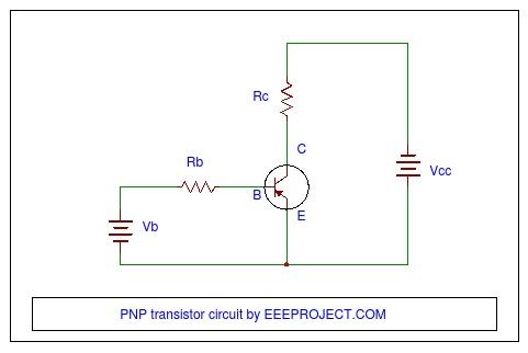 PNP transistor circuit